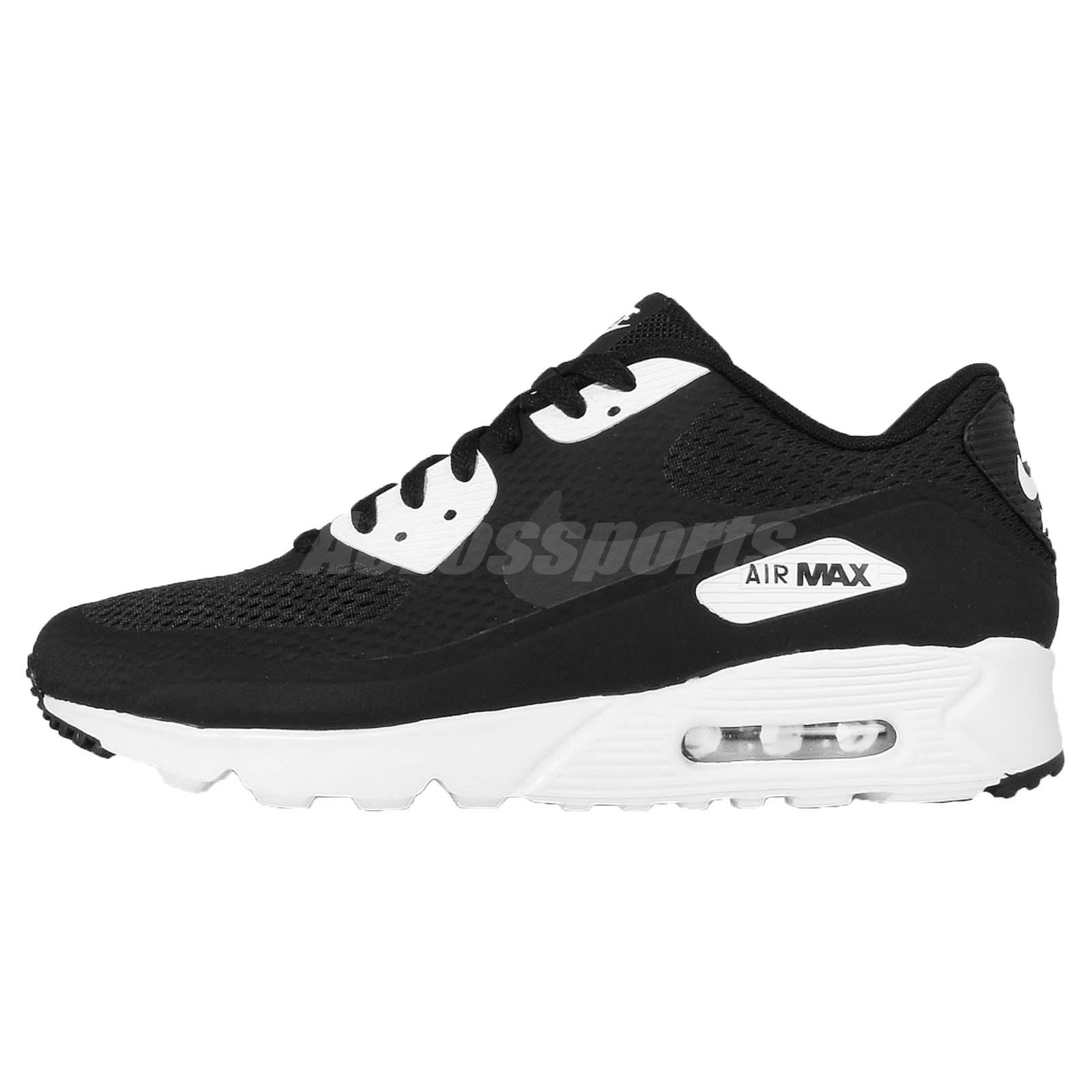 Nike Air Max 90 Ultra Essential Black White NSW Mens Running Shoes 819474-001