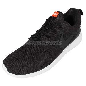 bunlz Nike Roshe One Retro Rosherun Black Grey Mens Running Shoes