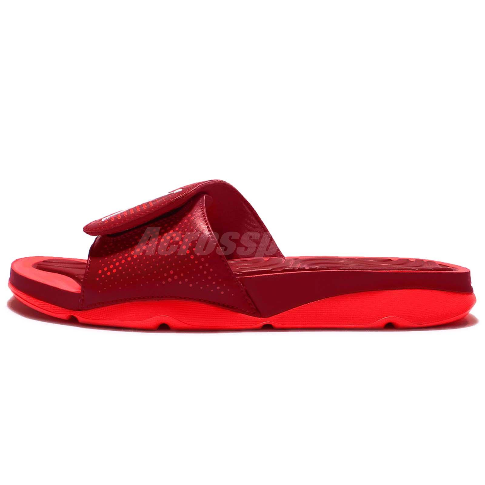 Nike Jordan Hydro 5 V Red Infrared Mens Sandal Slides Slippers AJ5 820257-602