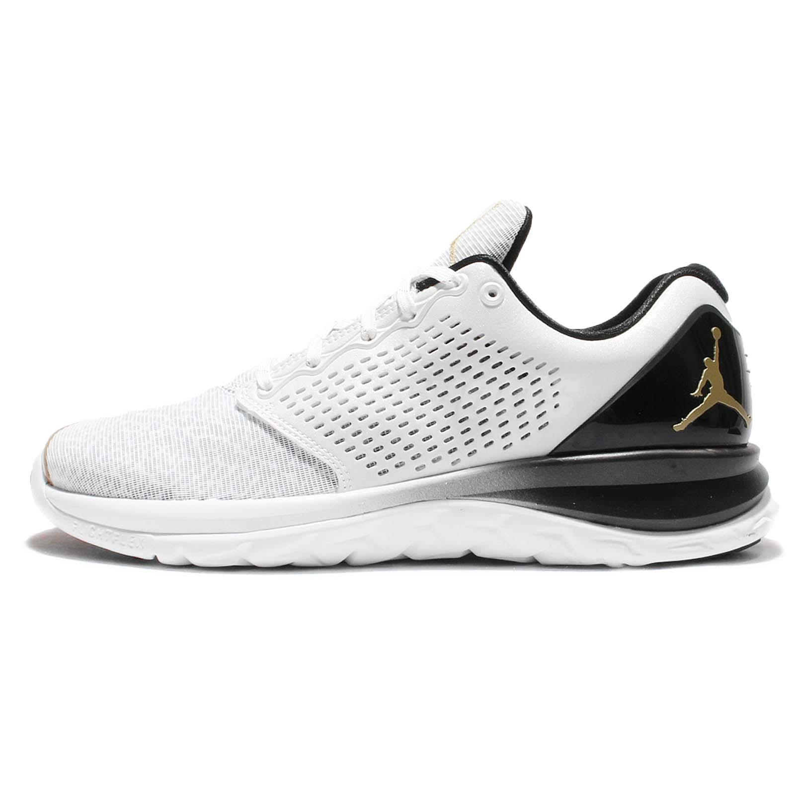 nike jordan trainer st prem premium white gold mens cross training 843732 103. Black Bedroom Furniture Sets. Home Design Ideas
