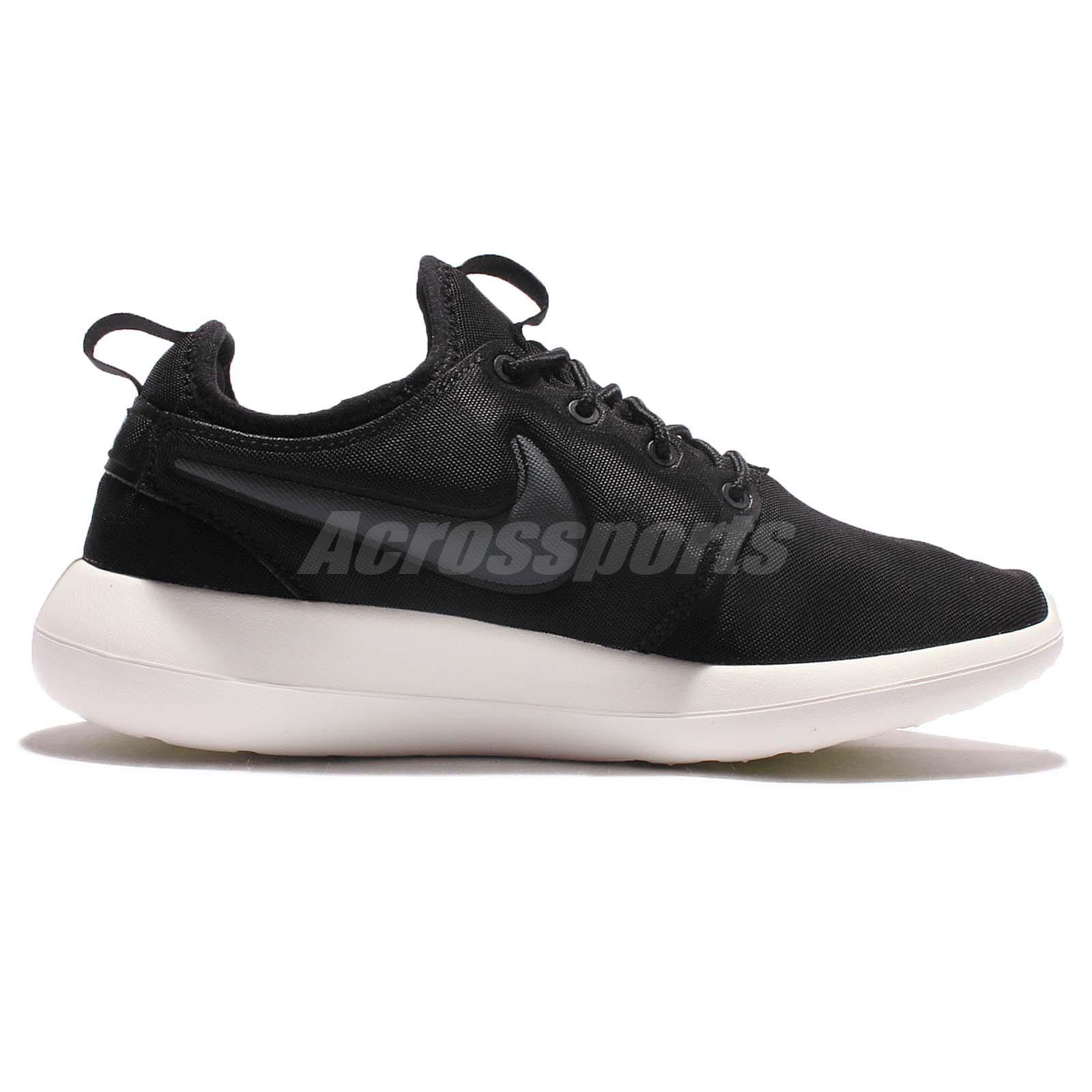 Nike Roshe Two 2 Rosherun Black Sail Mens Running Shoes Sneakers