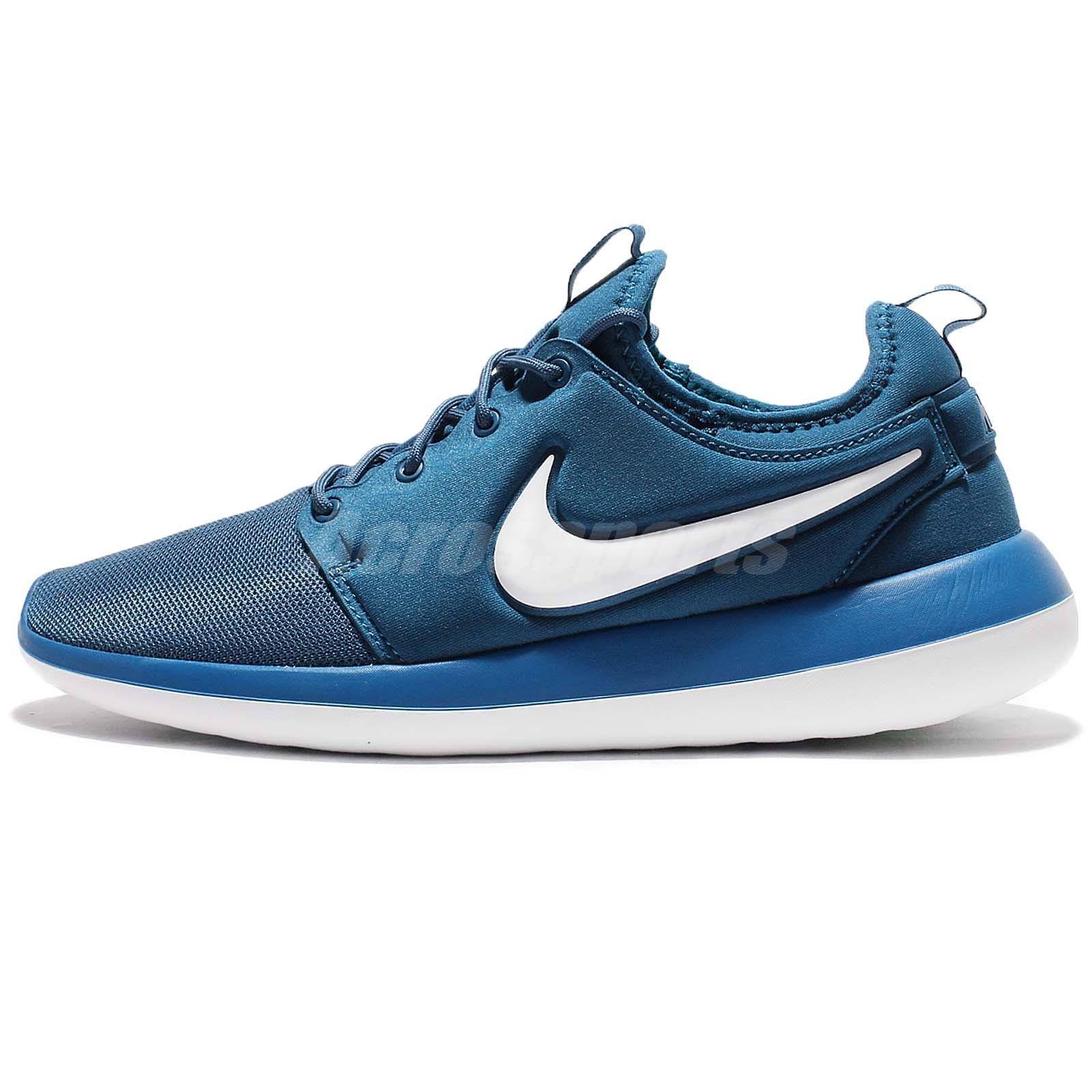 Nike Roshe Run Blue And White