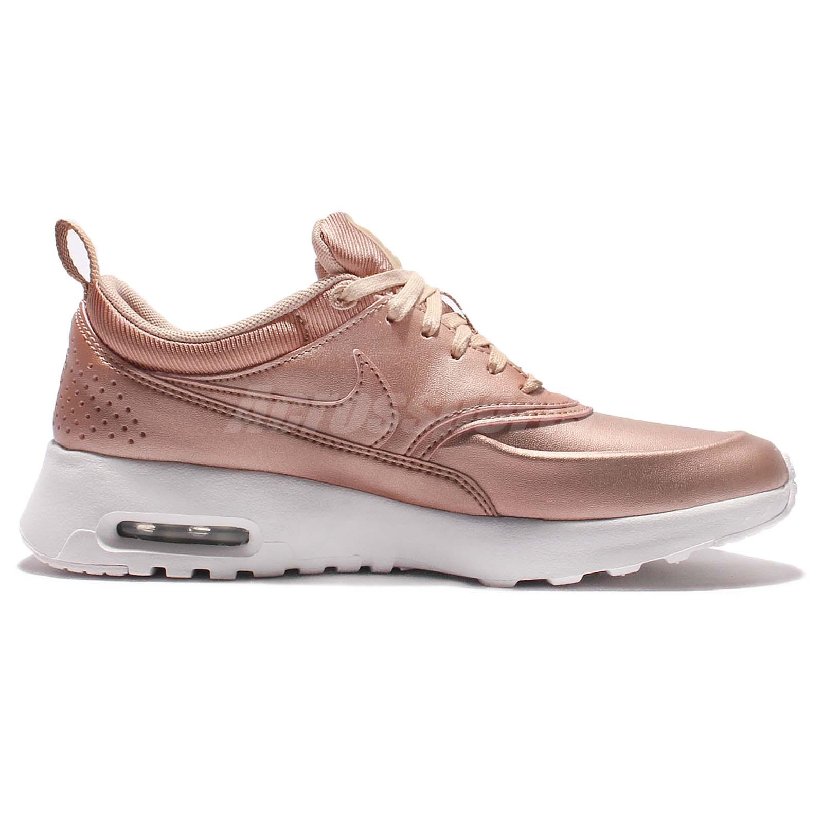 wmns nike air max thea se metallic red bronze womens. Black Bedroom Furniture Sets. Home Design Ideas