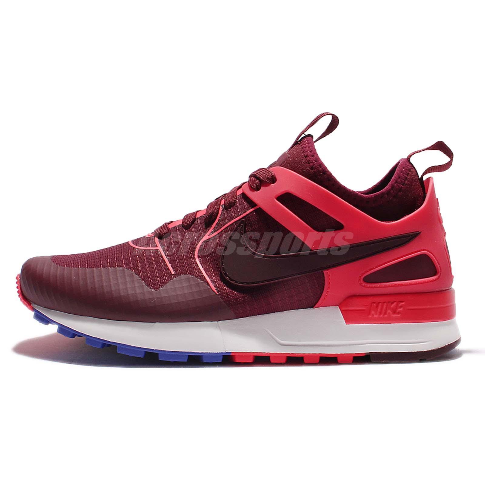 Beautiful Nike Roshe Run Womens Mens Mesh Maroon Red White Burgundy