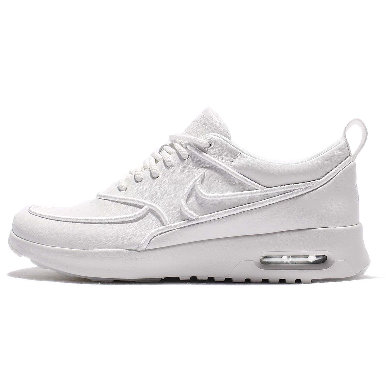 wmns nike air max thea ultra si white triple women running. Black Bedroom Furniture Sets. Home Design Ideas