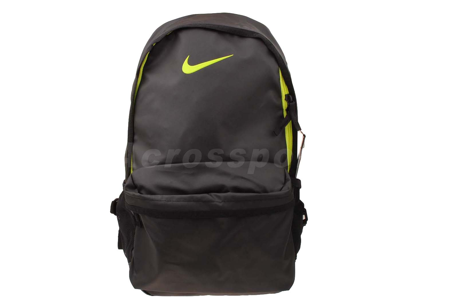 nike basketball elite backpack black green mens sports bag