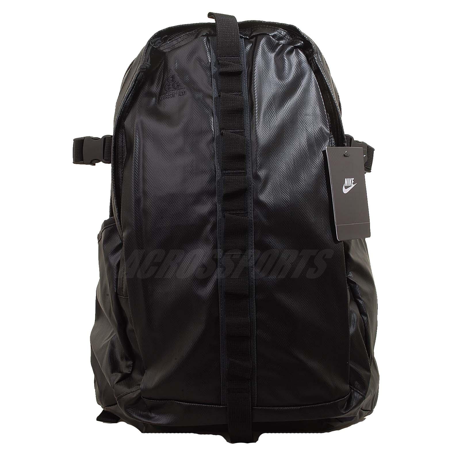 Nike ACG Karst 40 Backpack Black Mens Outdoors Bag BA4579 006 | eBay