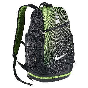 nike hoops elite max air black green men basketball