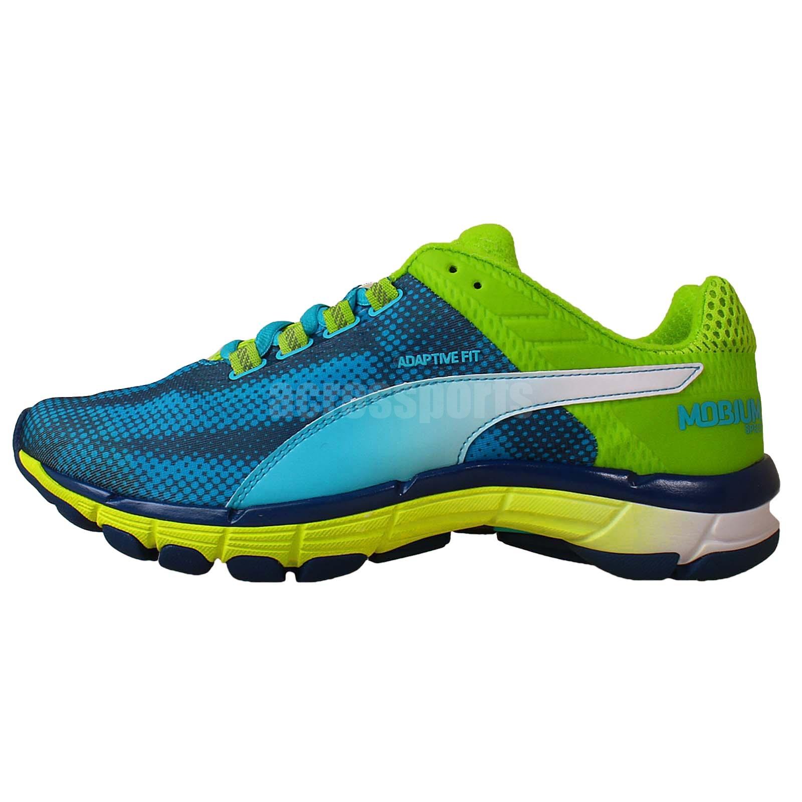 Puma Mobium Elite Speed Blue Green 2014 Mens Jogging ...