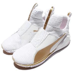 Puma Gold White