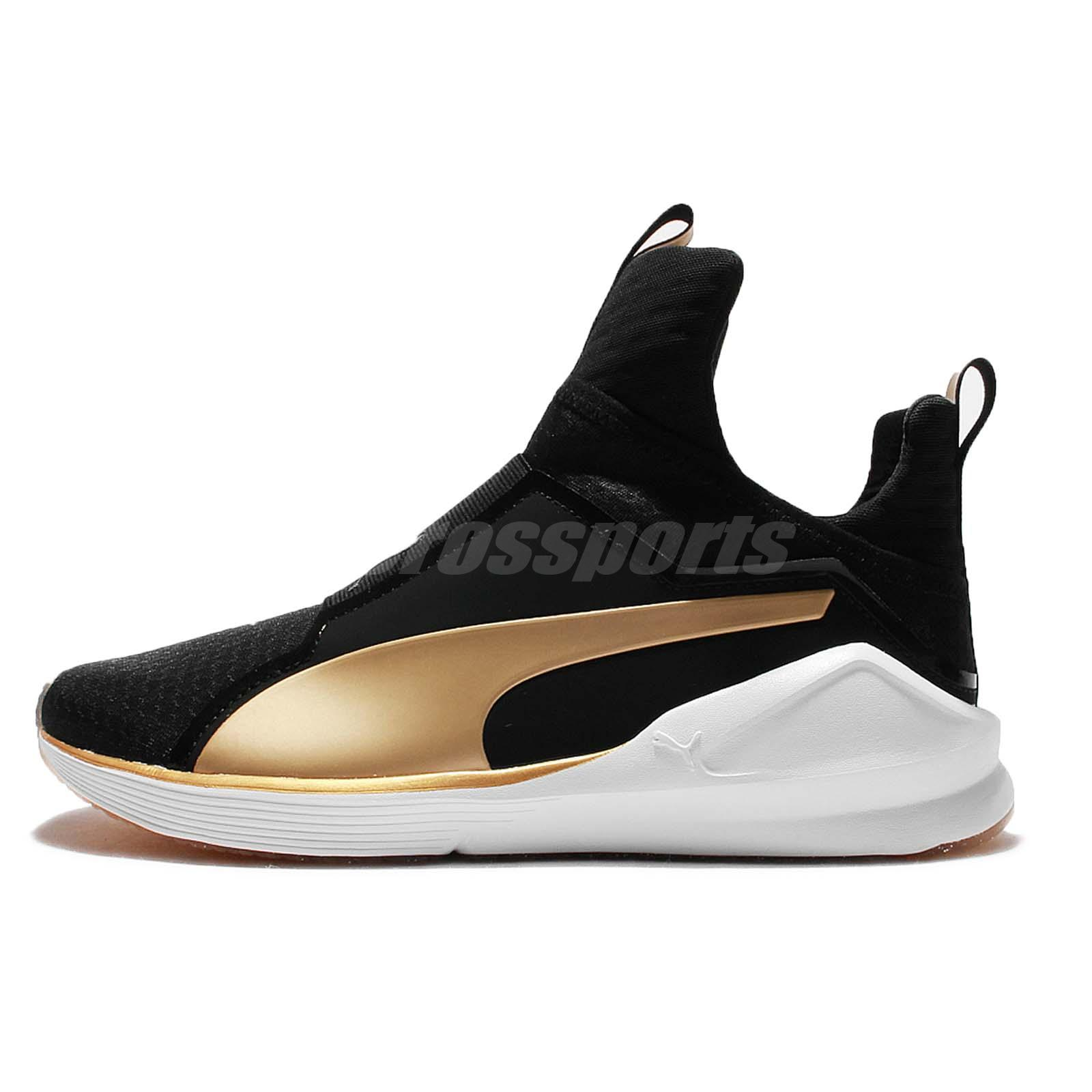 Puma Gold And Black