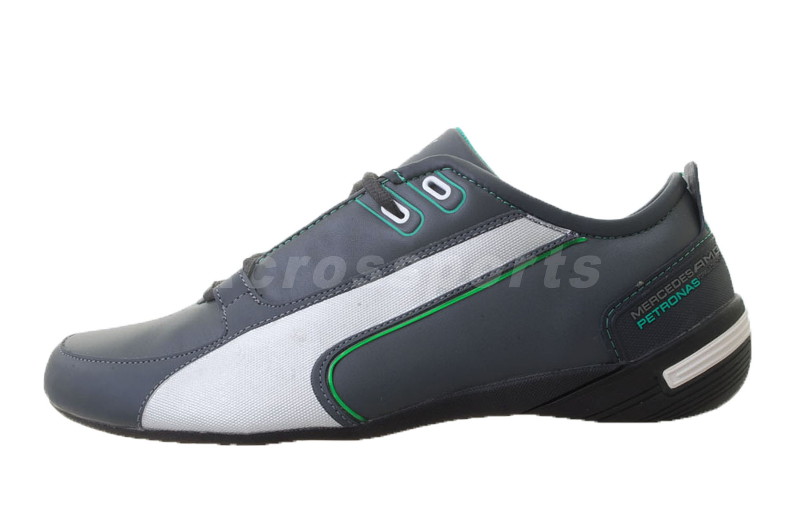 puma grand cat mamgp mercedes amg benz mens shoes grey