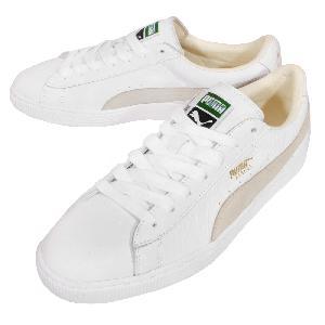 puma classic white beige
