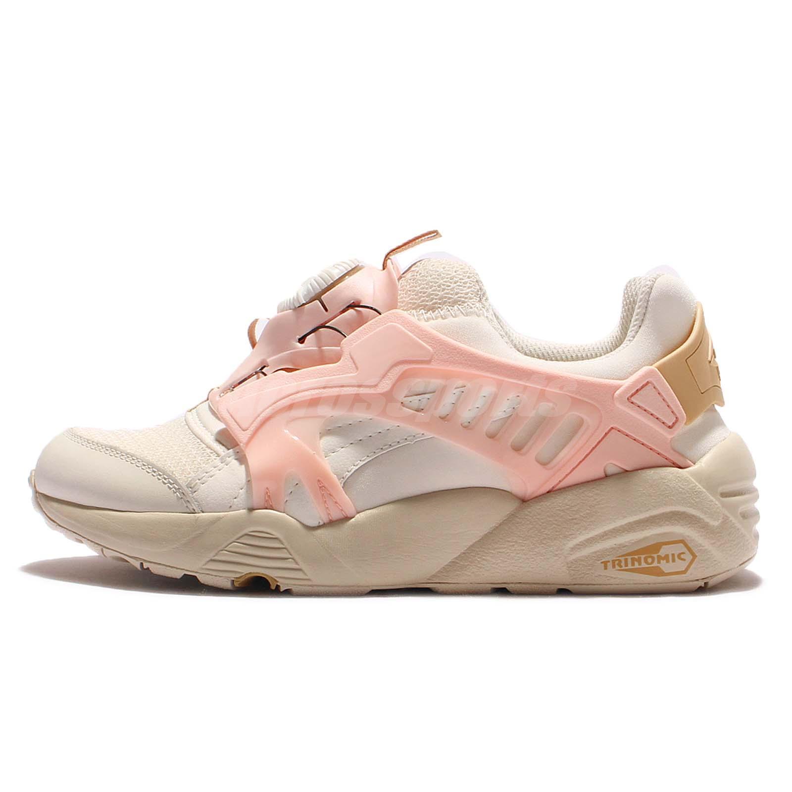 ... Puma Disc Blaze CT Beige Pink Trinomic Mens Running Shoes Sneakers  362040-05 .