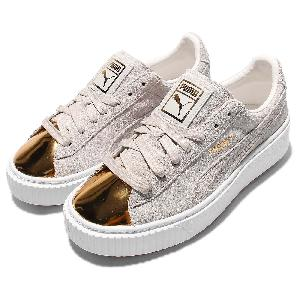 Puma Platform Sneakers Gold Toe