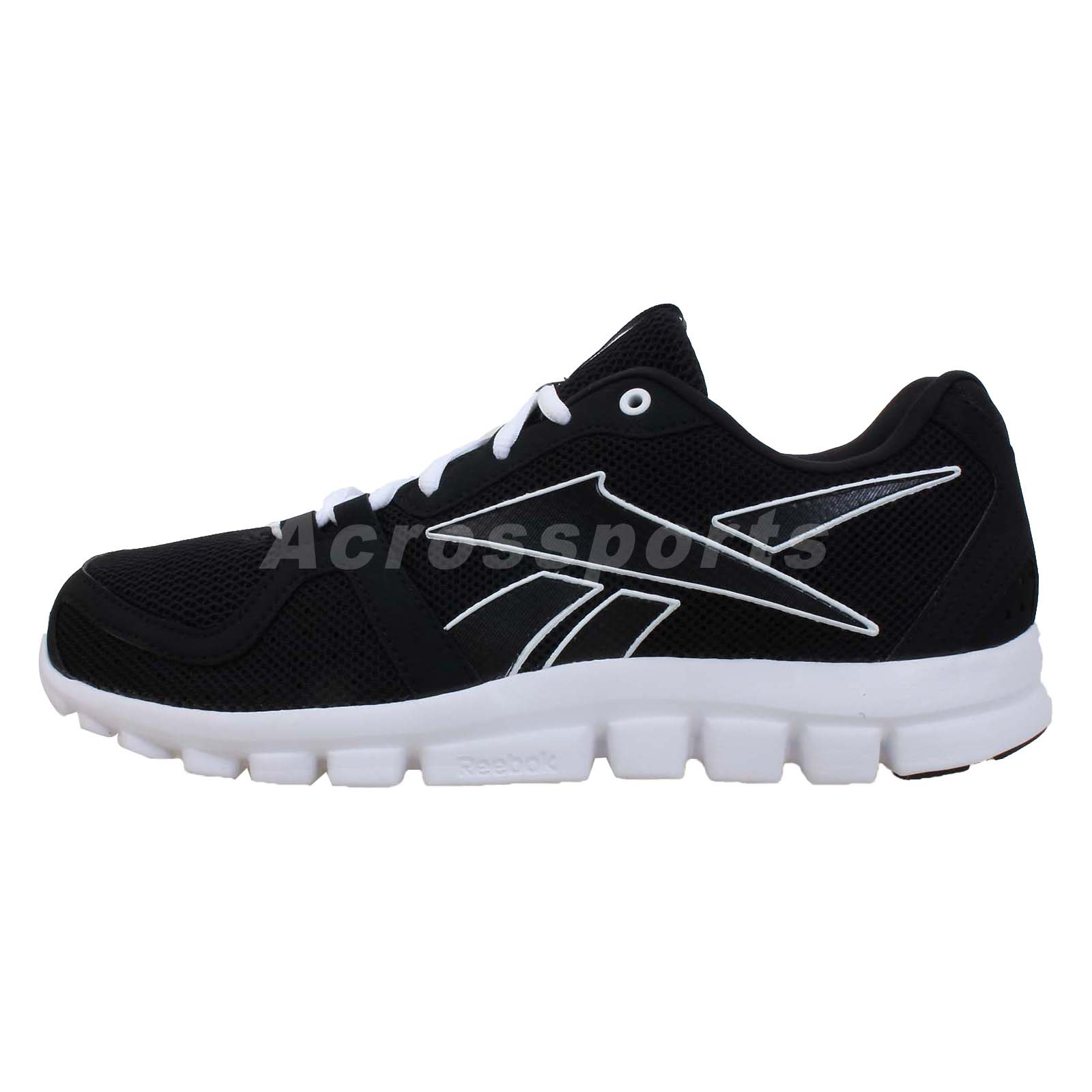 reebok yourflex run 40 black white 2013 mens running