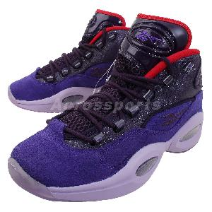 Reebok Question Mid Purple I3 Allen Iverson Retro Mens Basketball ...