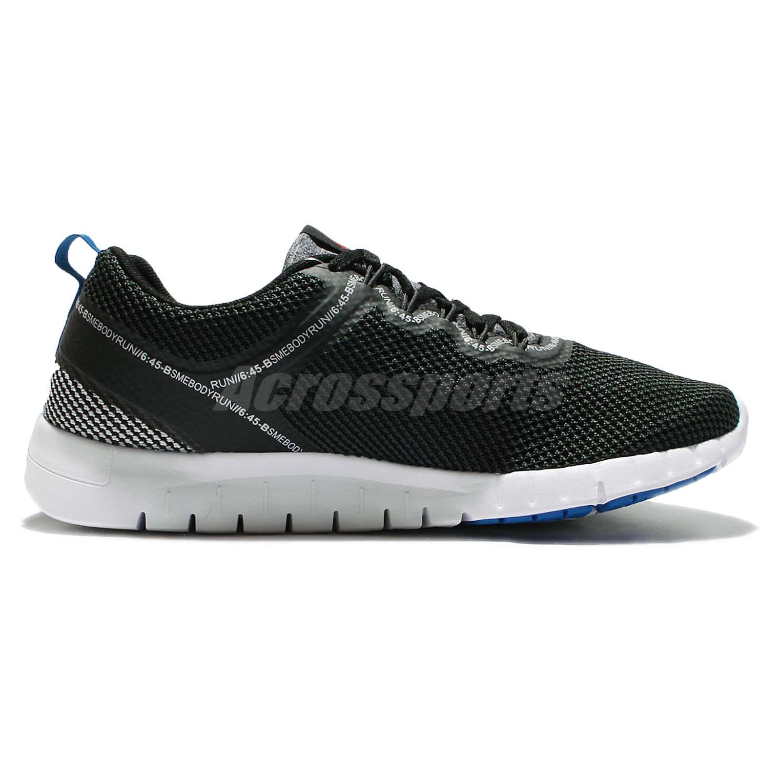 Reebok Men's Zquick 2.0 Running Shoe,Black/High Viscous Green/White,11;  Condition: Brand New With Box