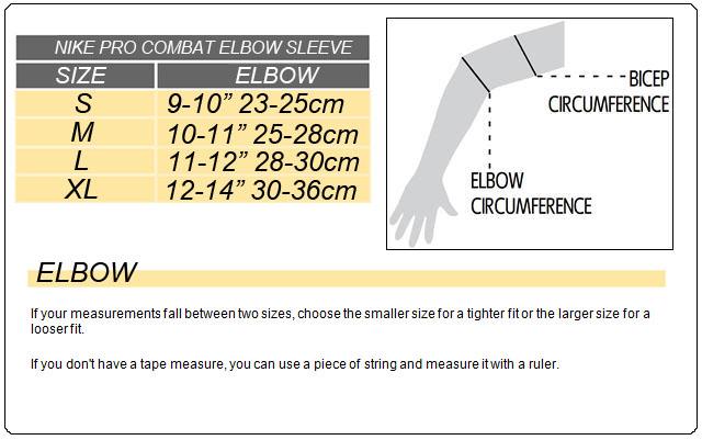 Nike pro combat shirt size chart santillana compartirsantillana