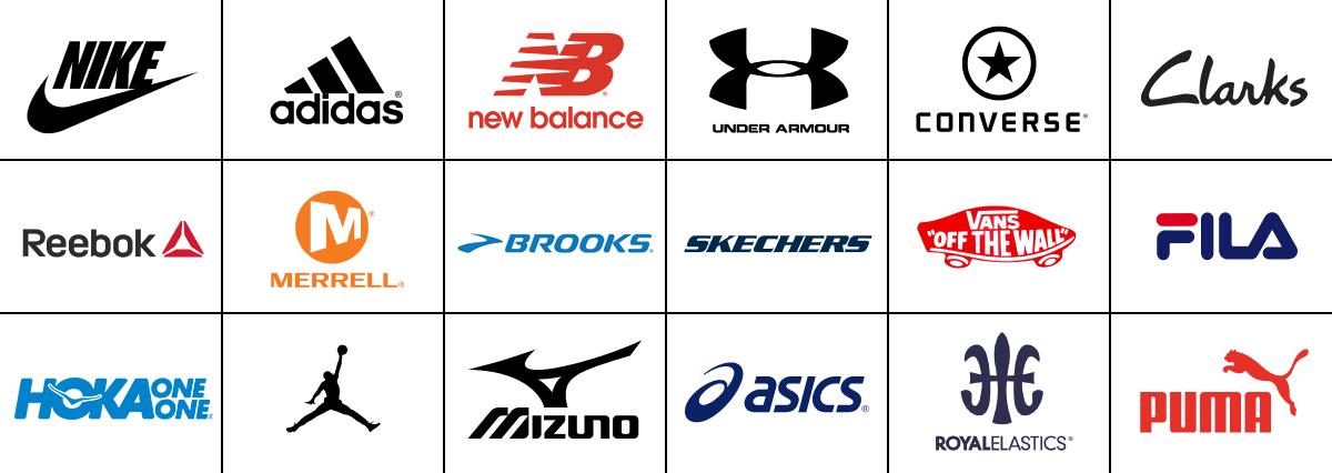 new balance nike adidas logo