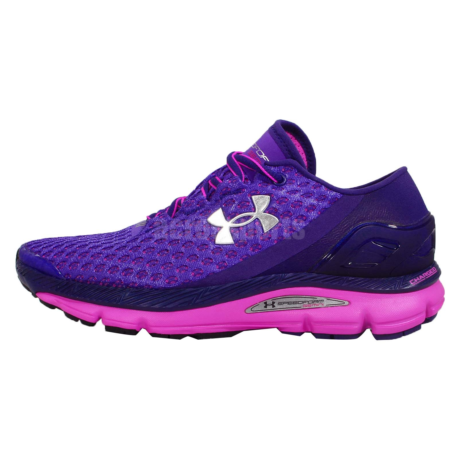 Brilliant Under Armour Womens Micro G Mantis NM Sz 6 Running Shoes PinkGreen