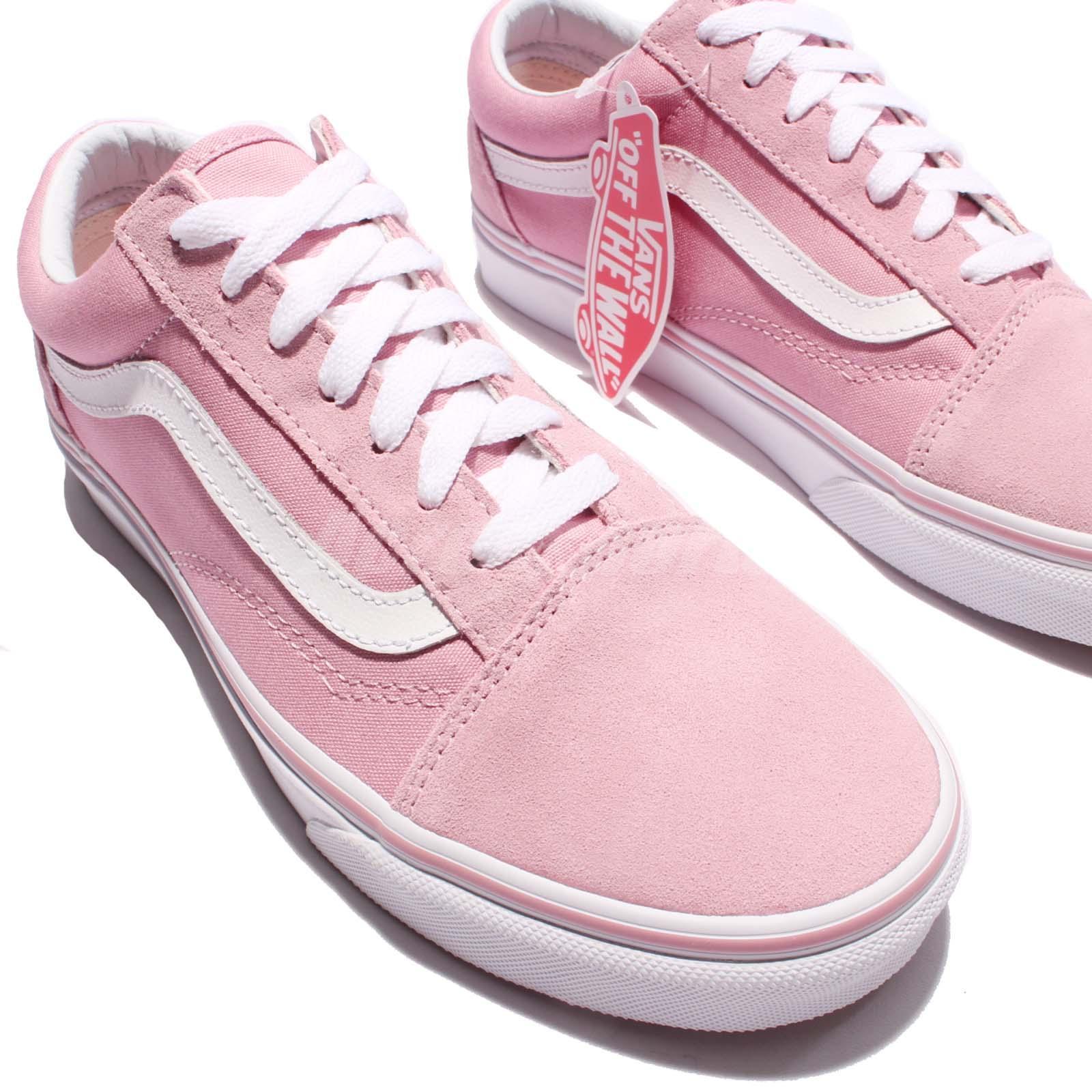 vans vans old skool pink white men women skateboarding. Black Bedroom Furniture Sets. Home Design Ideas