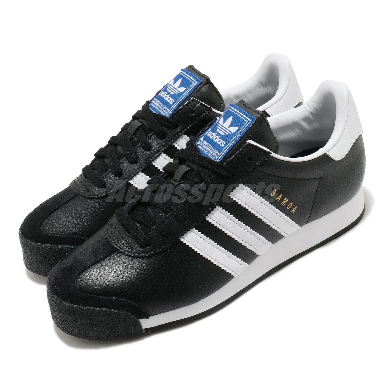Materialismo Suave Alboroto  Adidas Originals Samoa Oro Blanco Negro Hombre Mujer Unisex Casuales  Zapatos 019351 | eBay