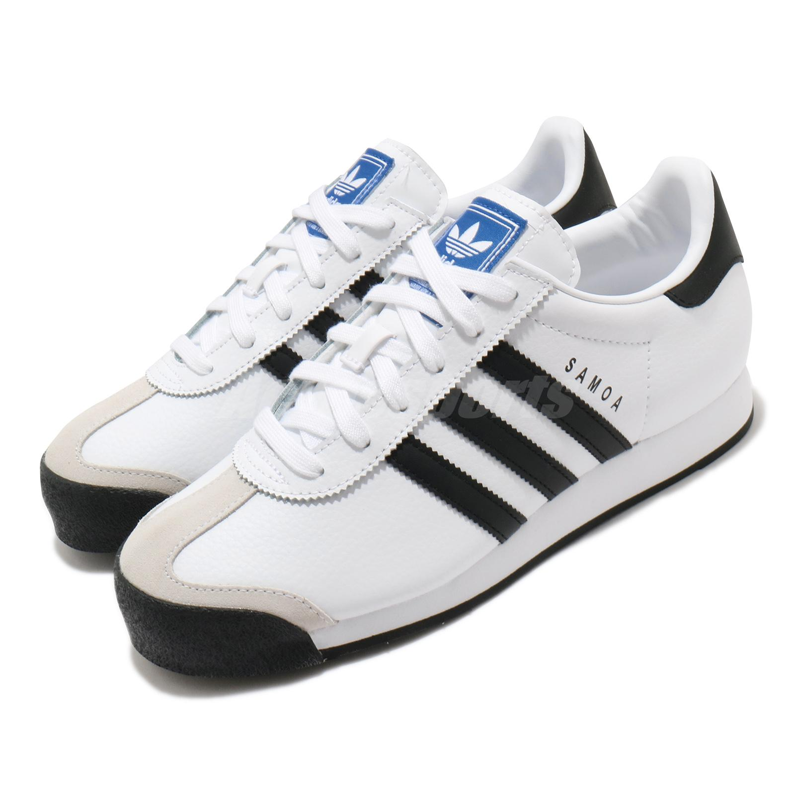adidas Originals Samoa White Black Mens