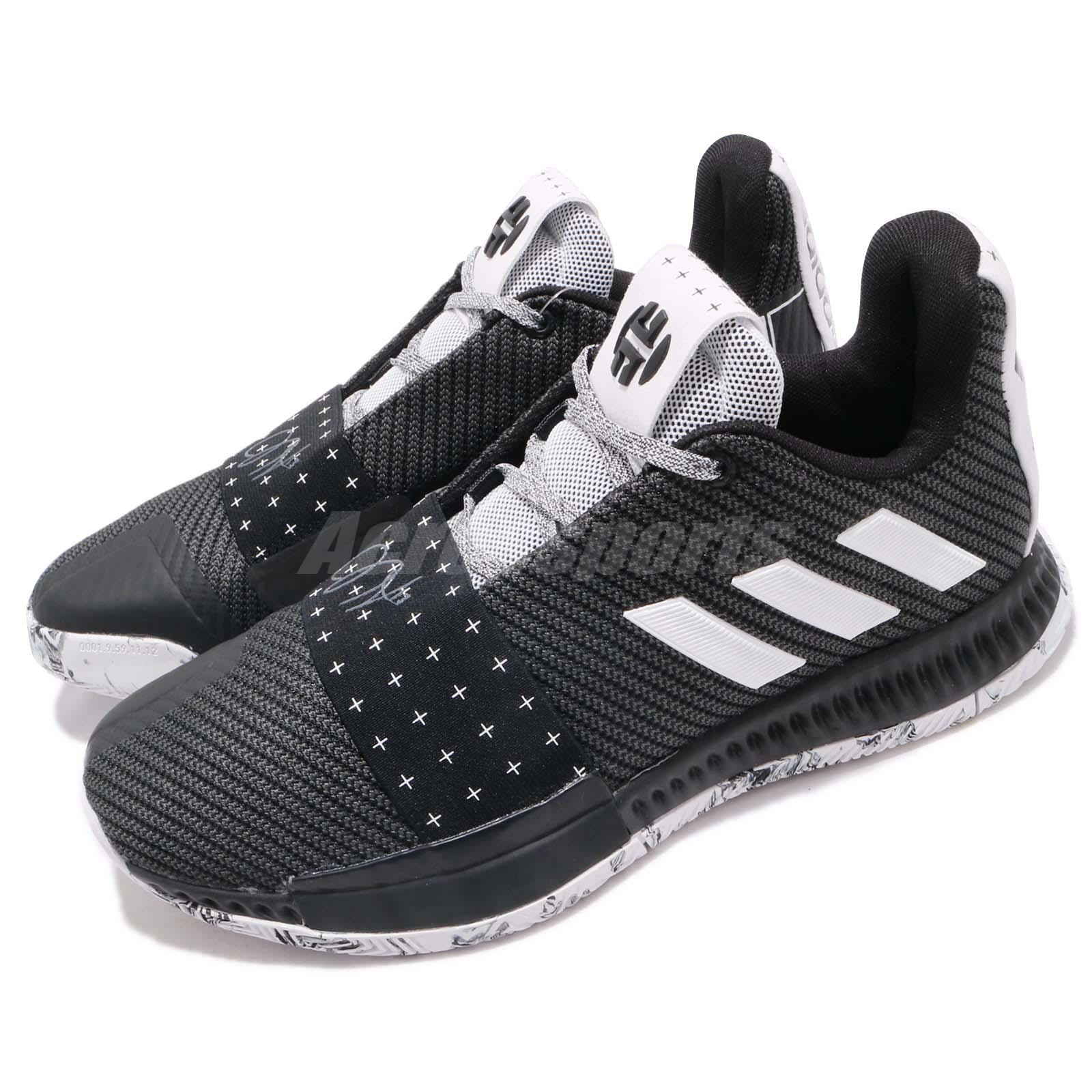 741978e1779f Details about adidas Harden Vol. 3 J James Black White Youth Womens Basketball  Shoes AC7616