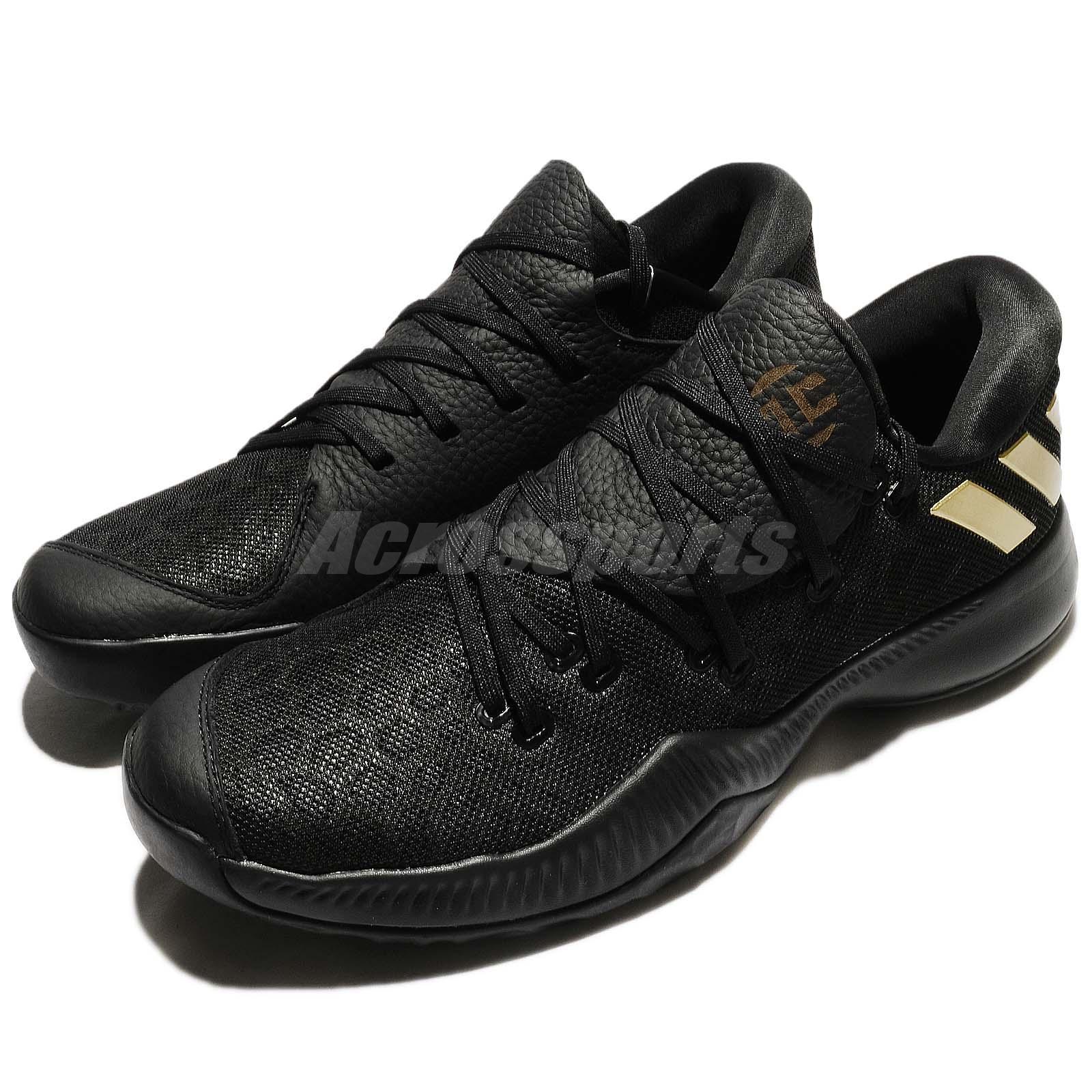 Adidas Harden B/E James Bounce Black Gold Men Basketball