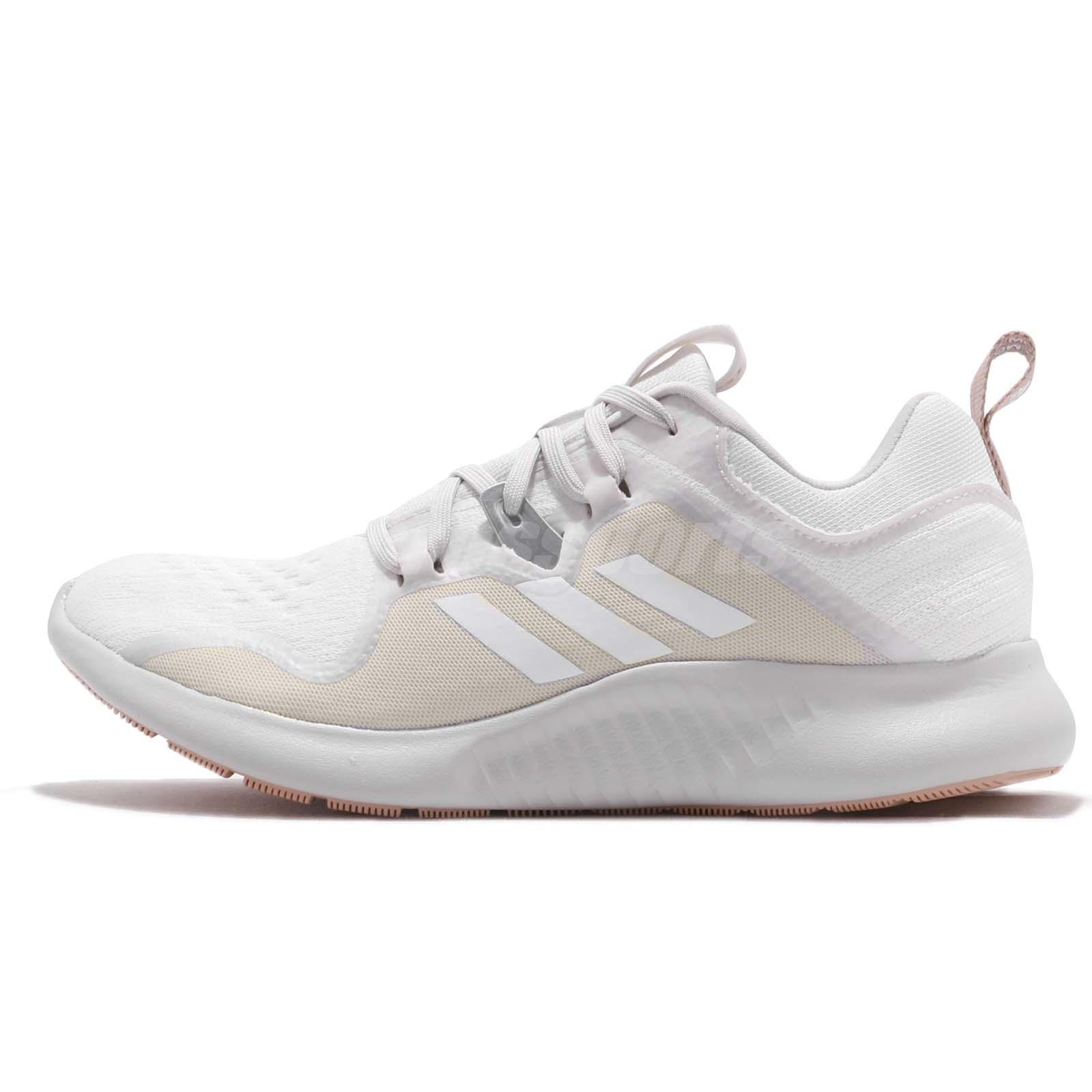 Details about adidas Edgebounce W White Grey Womens Running Shoes Runner Sneakers AC8116