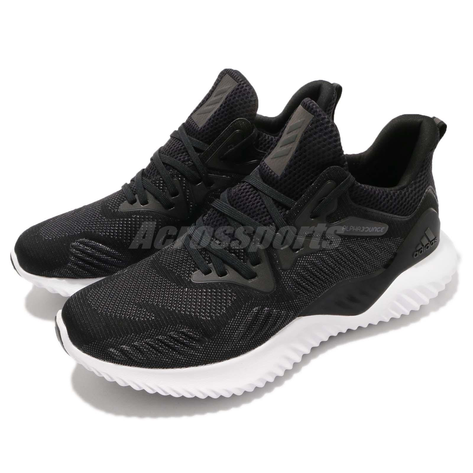 a98e64e974102 Details about adidas Alphabounce Beyond M Bounce Black White Men Running Shoes  Sneakers AC8273