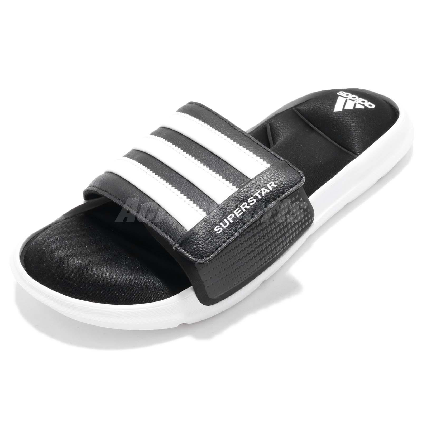 ddd3d10eaef3 Details about adidas Superstar 5G Slide Black White EVA Men Sports Sandal  Slippers AC8325