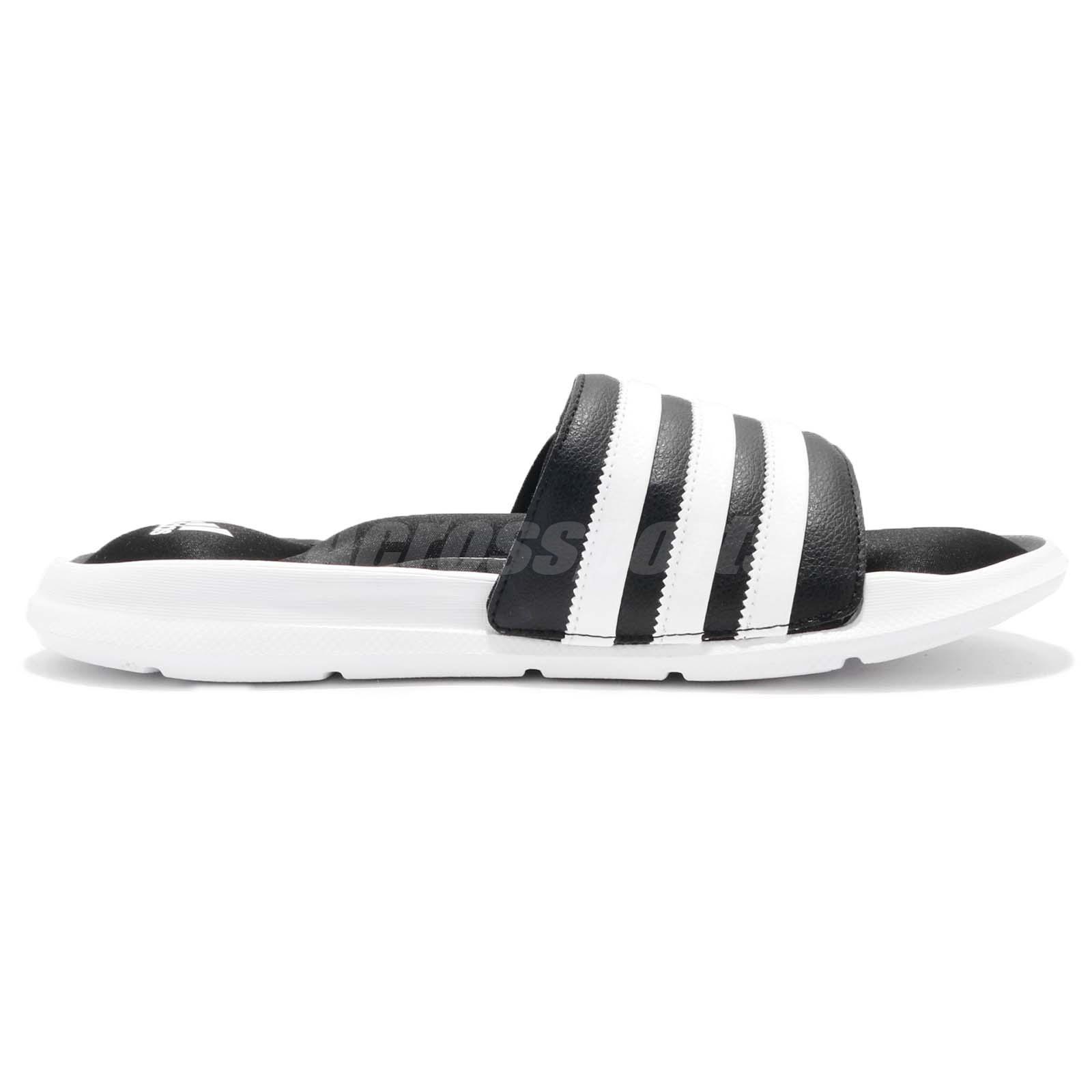f0d30d29dfe adidas Superstar 5G Slide Black White EVA Men Sports Sandal Slippers ...