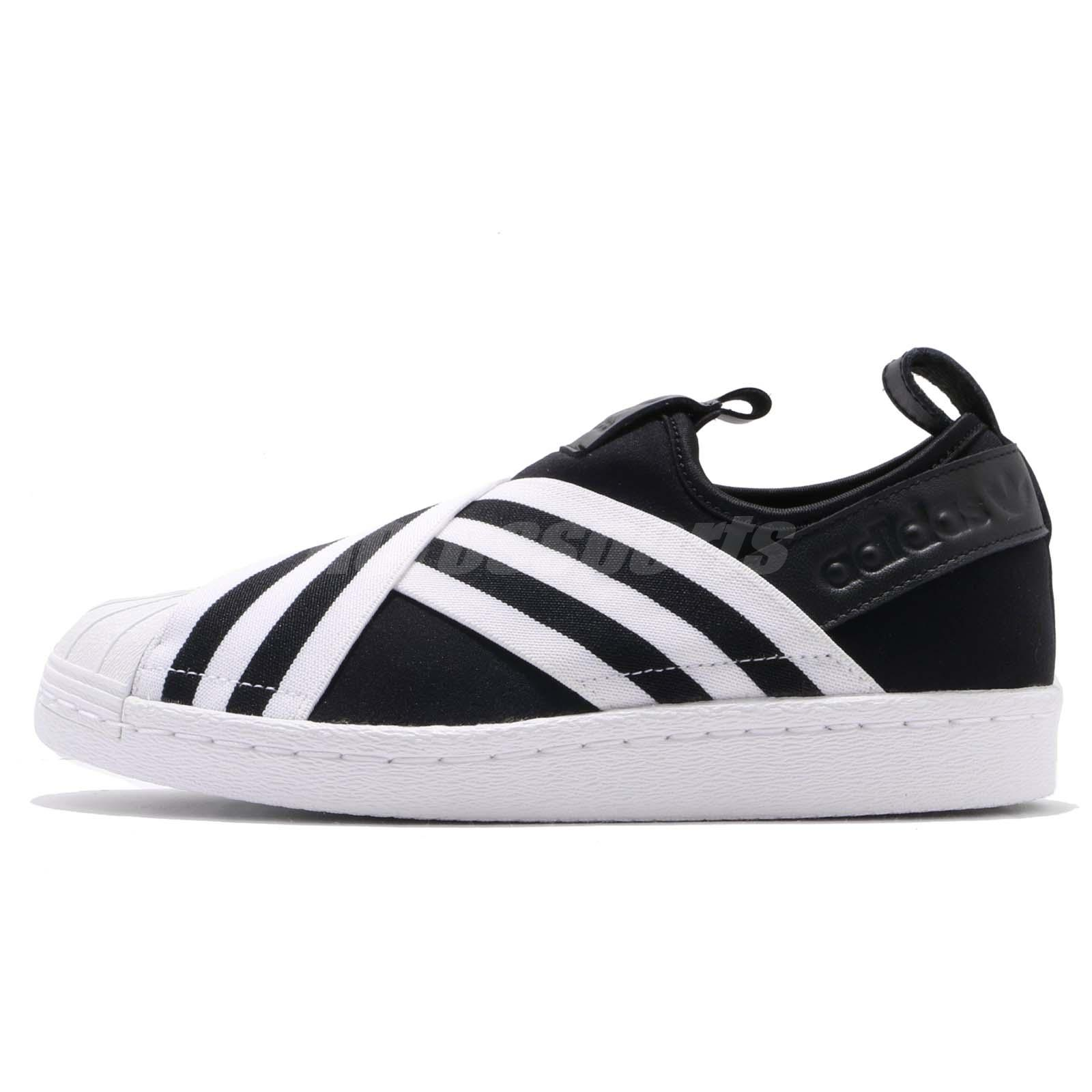 3beae46b40 adidas Originals Superstar Slip On W Core Black Cloud White Women Shoes  AC8582
