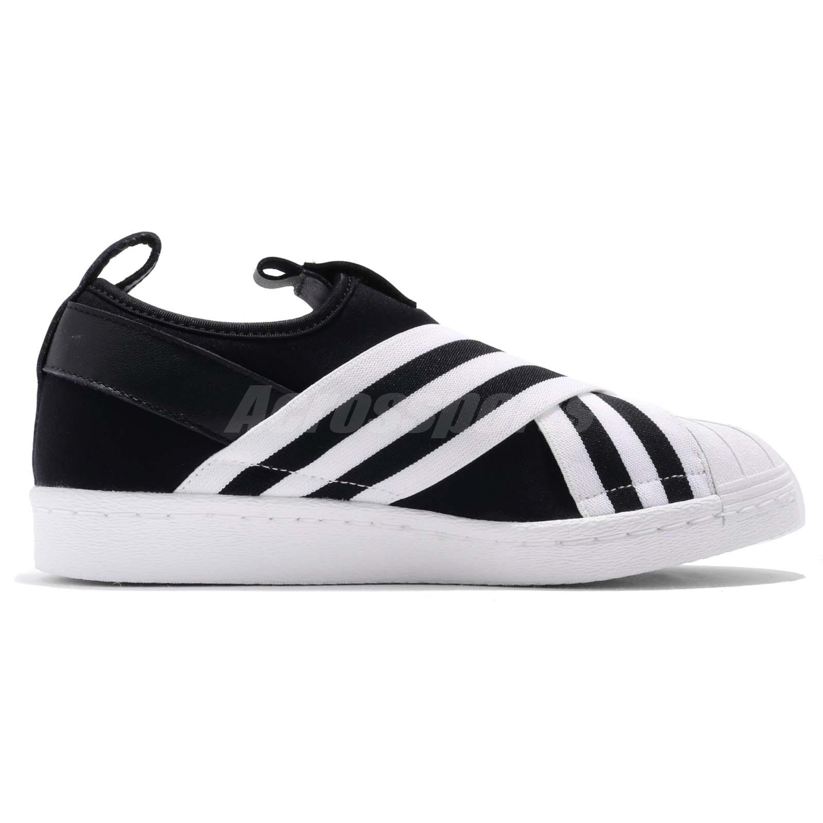 f4d917beddc20b adidas Originals Superstar Slip On W Core Black Cloud White Women Shoes  AC8582