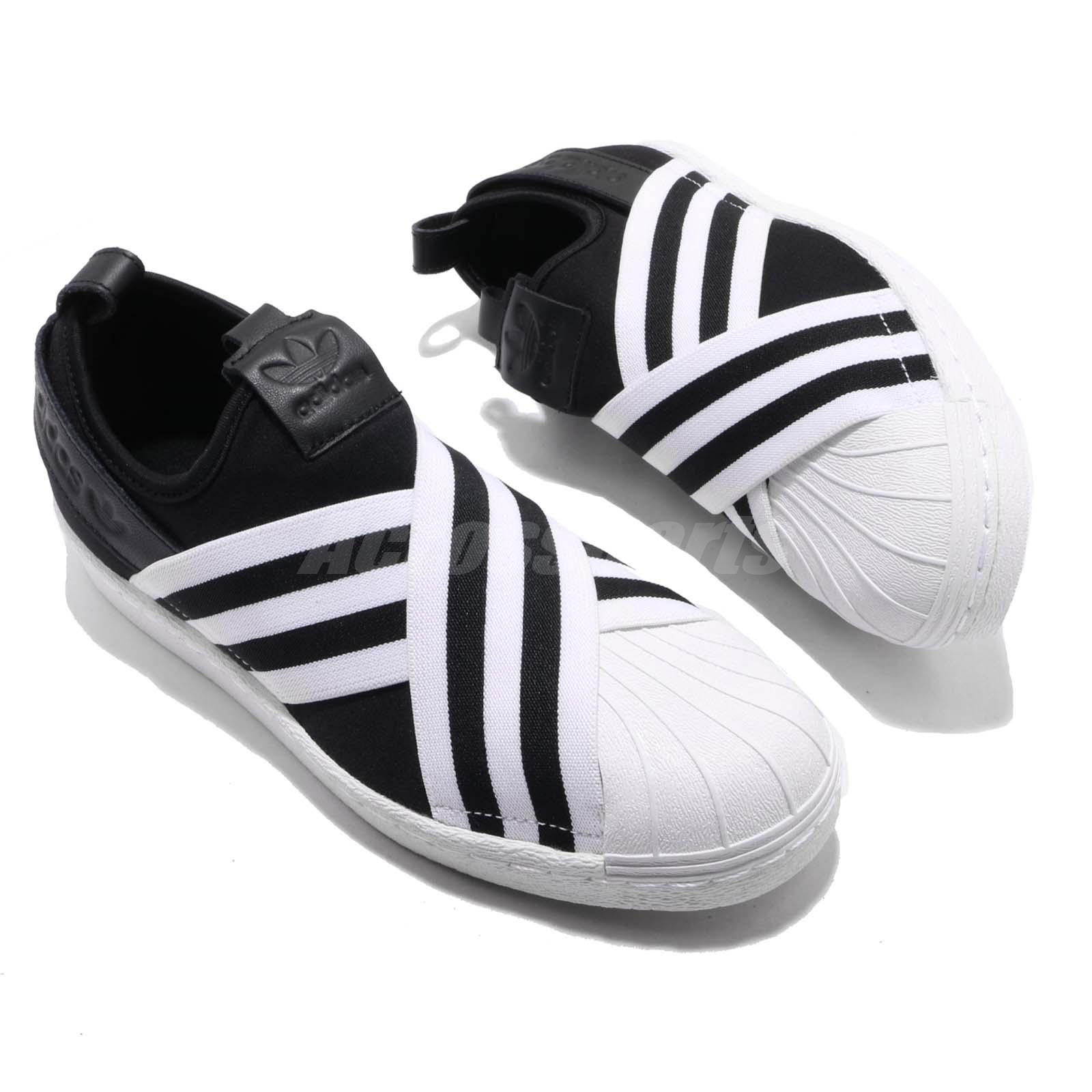 212ea69e376f08 adidas Originals Superstar Slip On W Core Black Cloud White Women ...