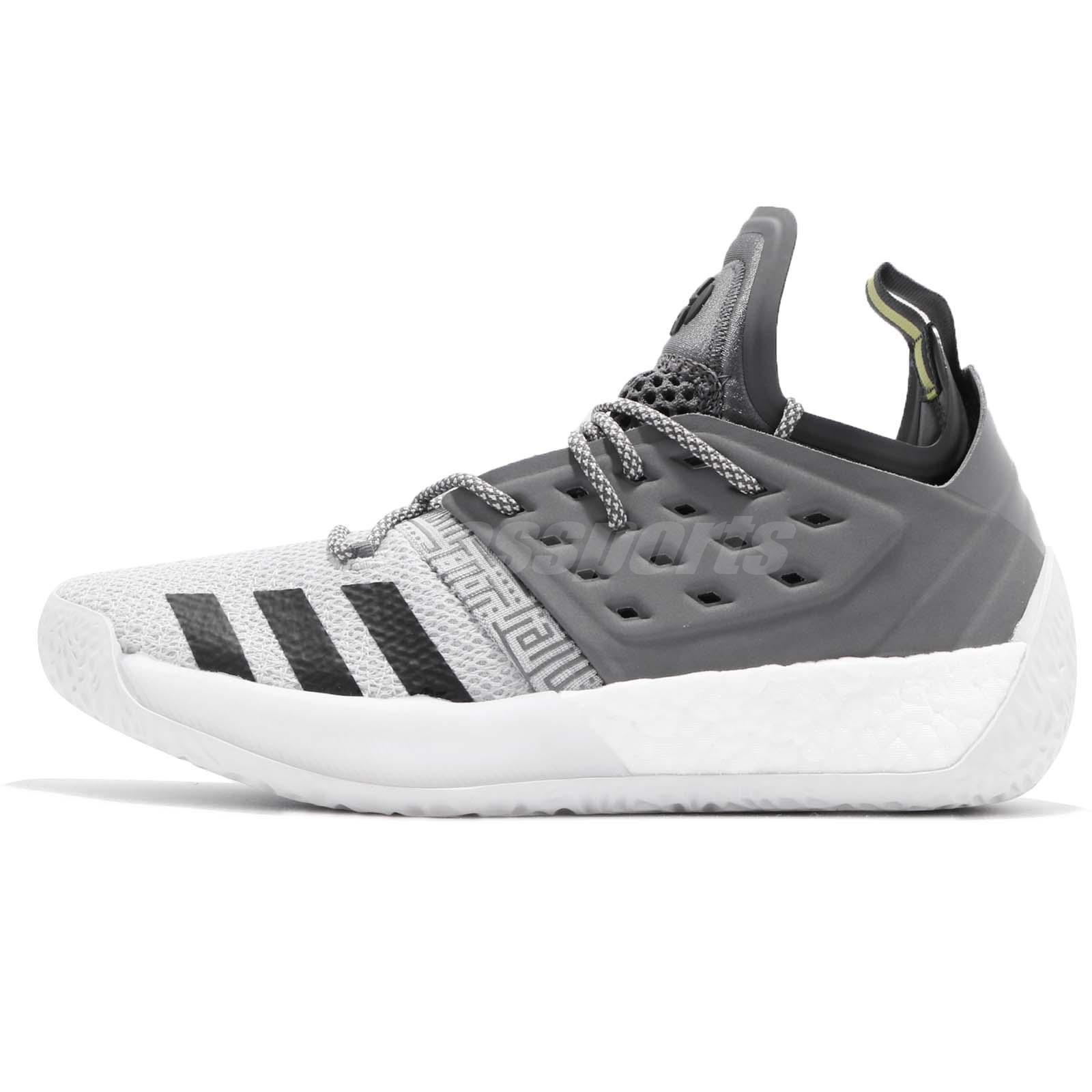 53d924c4c42 adidas Harden Vol. 2 Concrete Grey Black James Men Basketball Shoes AH2122