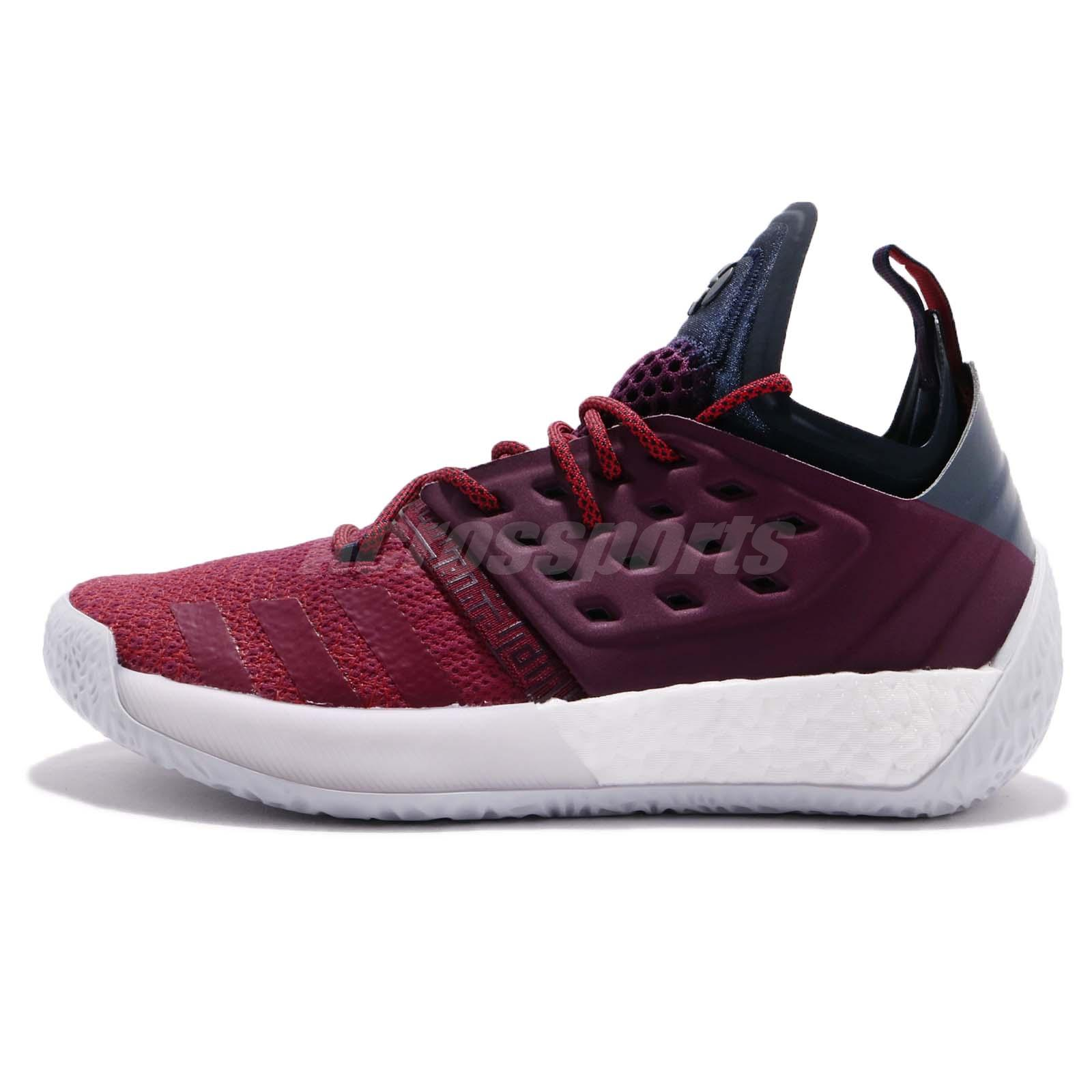 100% authentic c7665 e3092 new arrivals adidas harden vol. 2 ignite ii james harden maroon red men basketball  ah2124