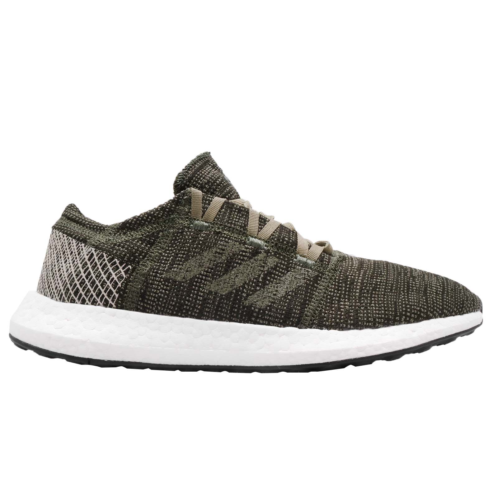 8e9892ee34c04 adidas PureBOOST GO Base Green Clear Brown Men Running Shoes ...