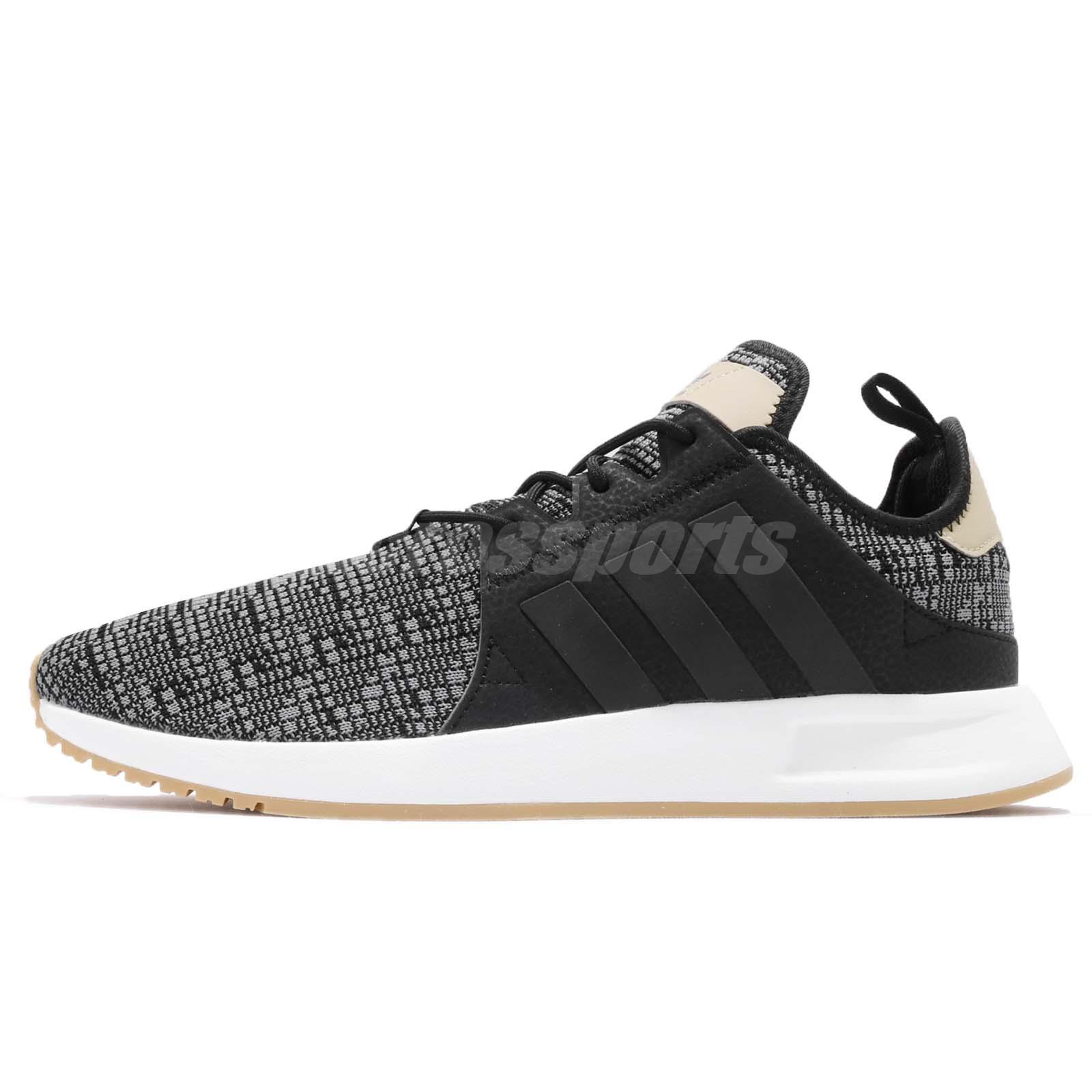 adidas Originals X_PLR Black White Gum Men Running Shoes Sneakers AH2360