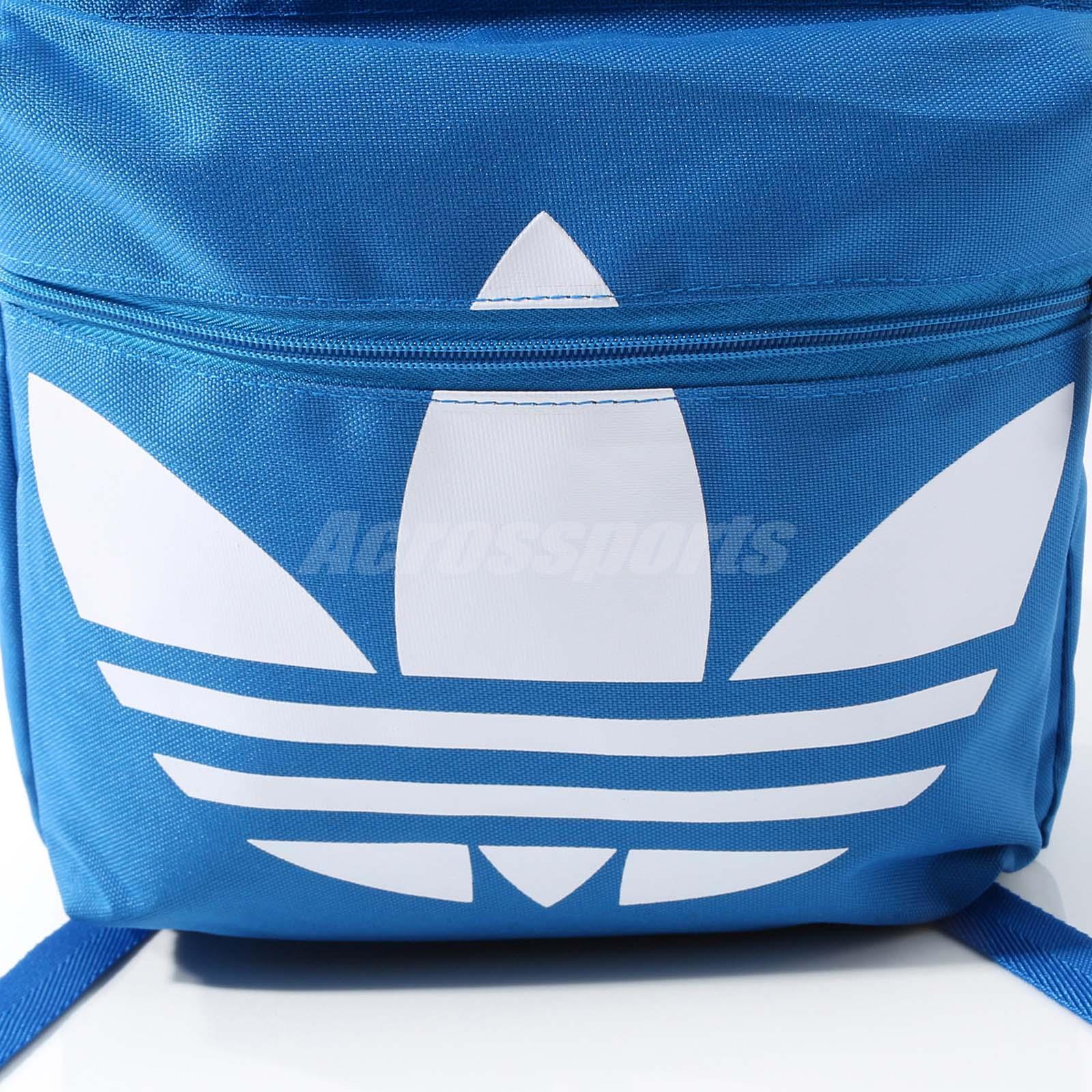 adidas Originals Classic Trefoil Backpack BP Bag Training Workout ... fd34c6f2ad3fc