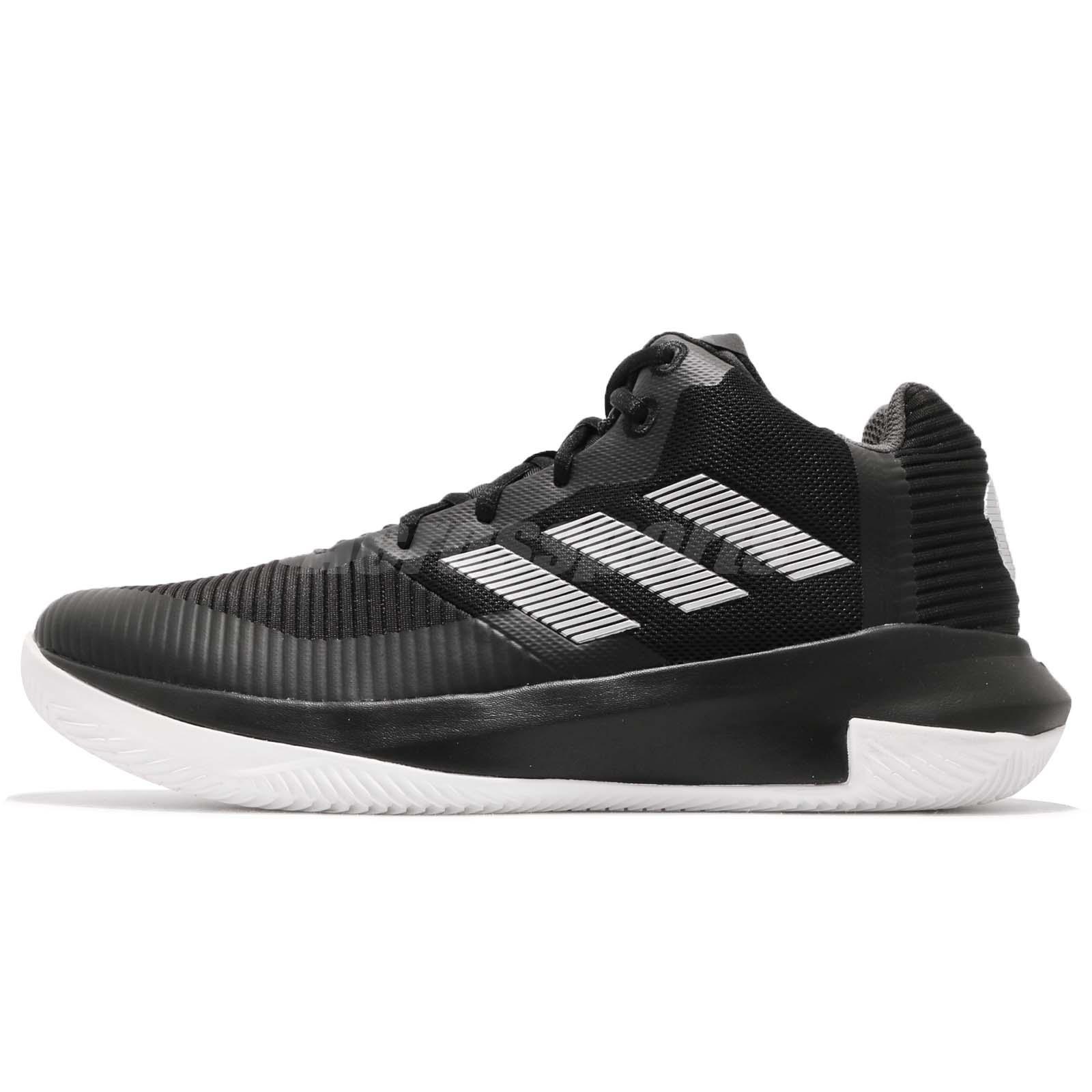 f41d1af0493 adidas D Rose Lethality Derrick Black White Mens Basketball Shoes Sneaker  AQ0043