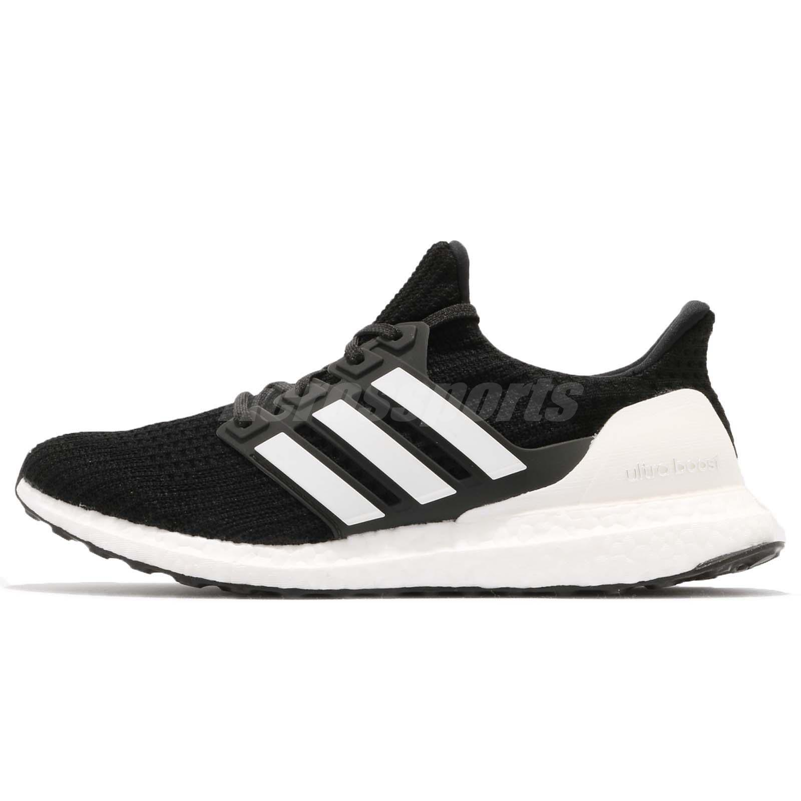 33c6dcb8e adidas UltraBOOST 4.0 Show Your Stripes Black White Men Running Shoes AQ0062