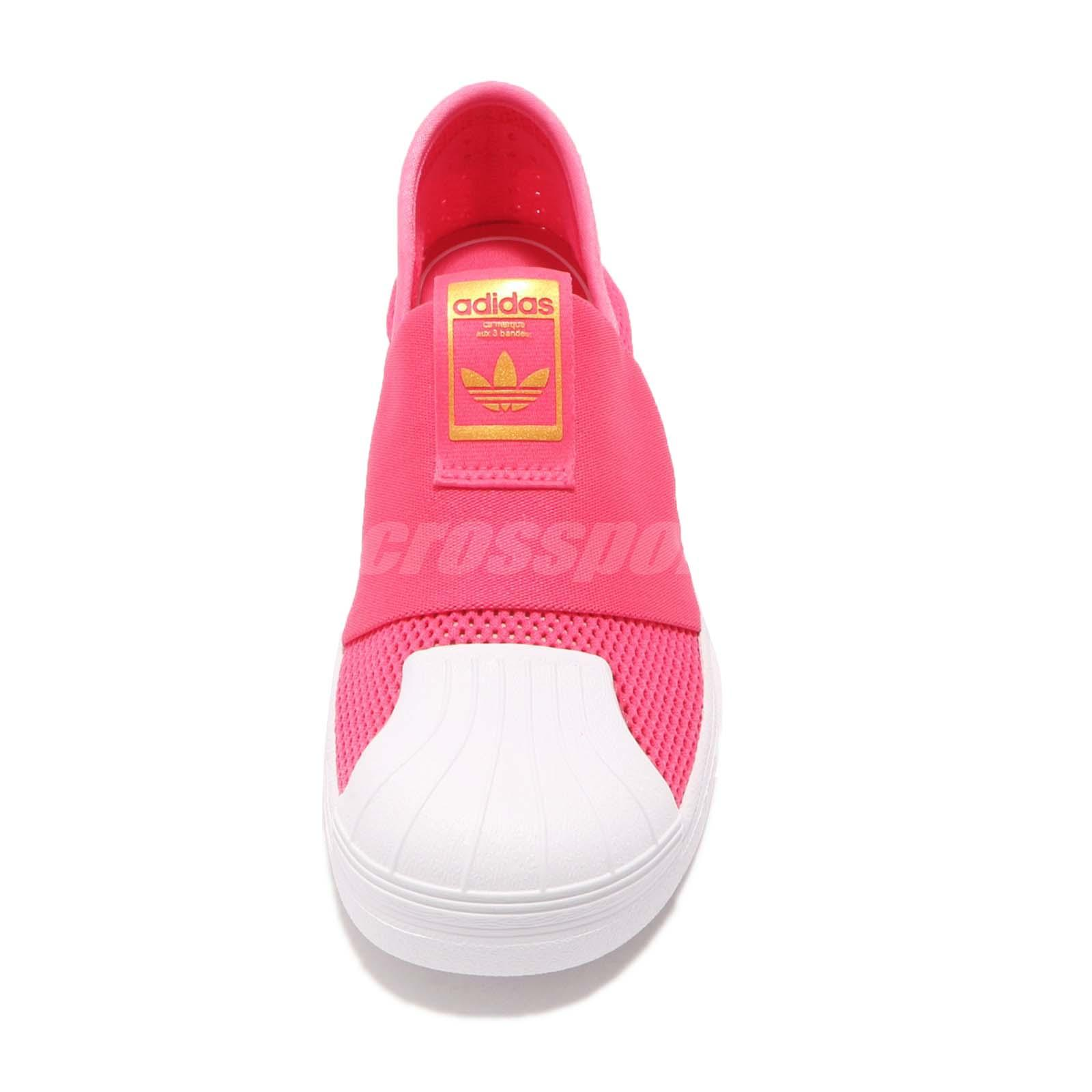 buy online b7462 07102 adidas Originals Superstar SMR 360 C Pink White Kid Junior Casual ...