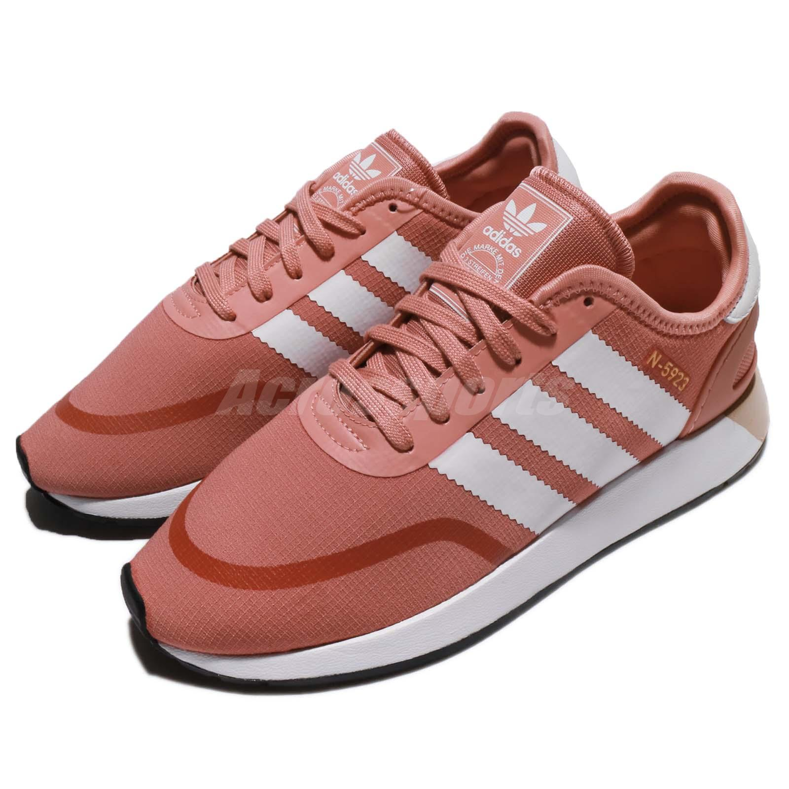 new style 71d08 bb6ae Details about adidas Originals N-5923 W Iniki Runner Ash Pink White Women  Casual Shoes AQ0267