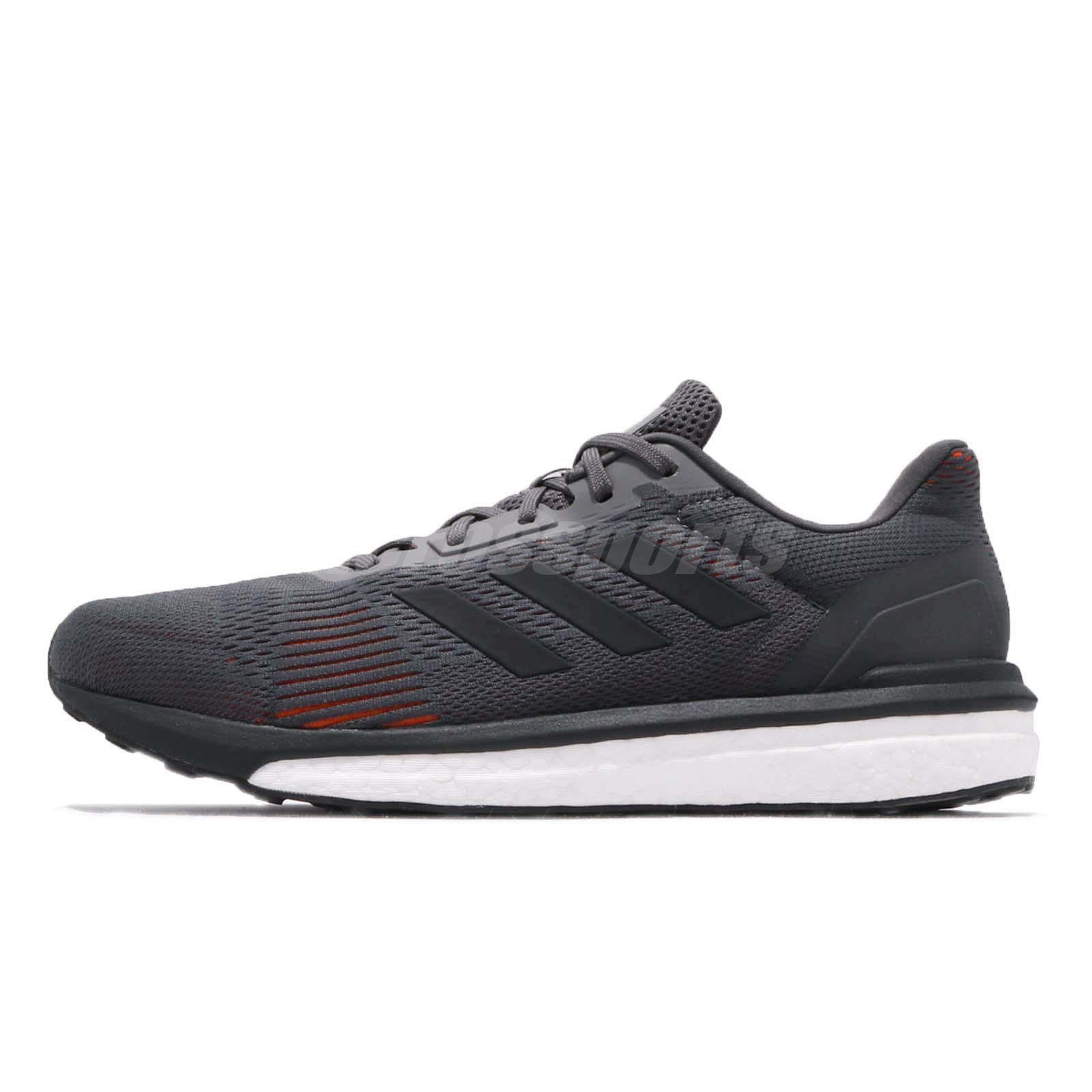 01c22bf49 adidas Solar Drive ST M Boost Grey Carbon Hi-Res Red Men Running Shoes  AQ0325