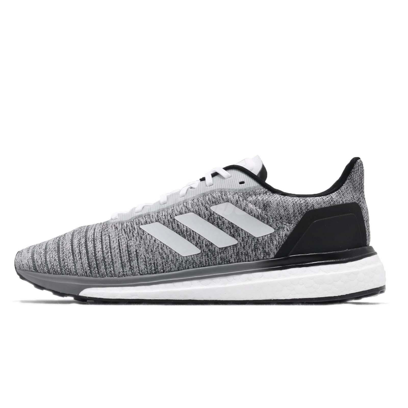 643f23703 adidas Solar Drive M Boost Grey White Black Men Running Shoes Sneakers  AQ0337