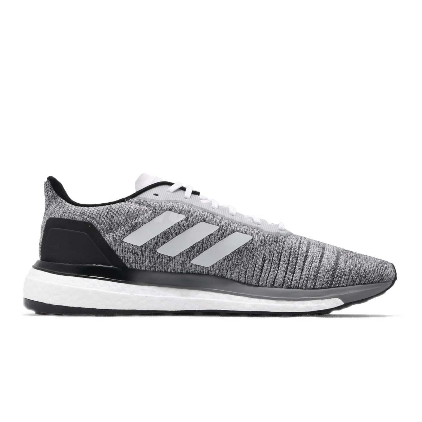 da22b8399 adidas Solar Drive M Boost Grey White Black Men Running Shoes ...