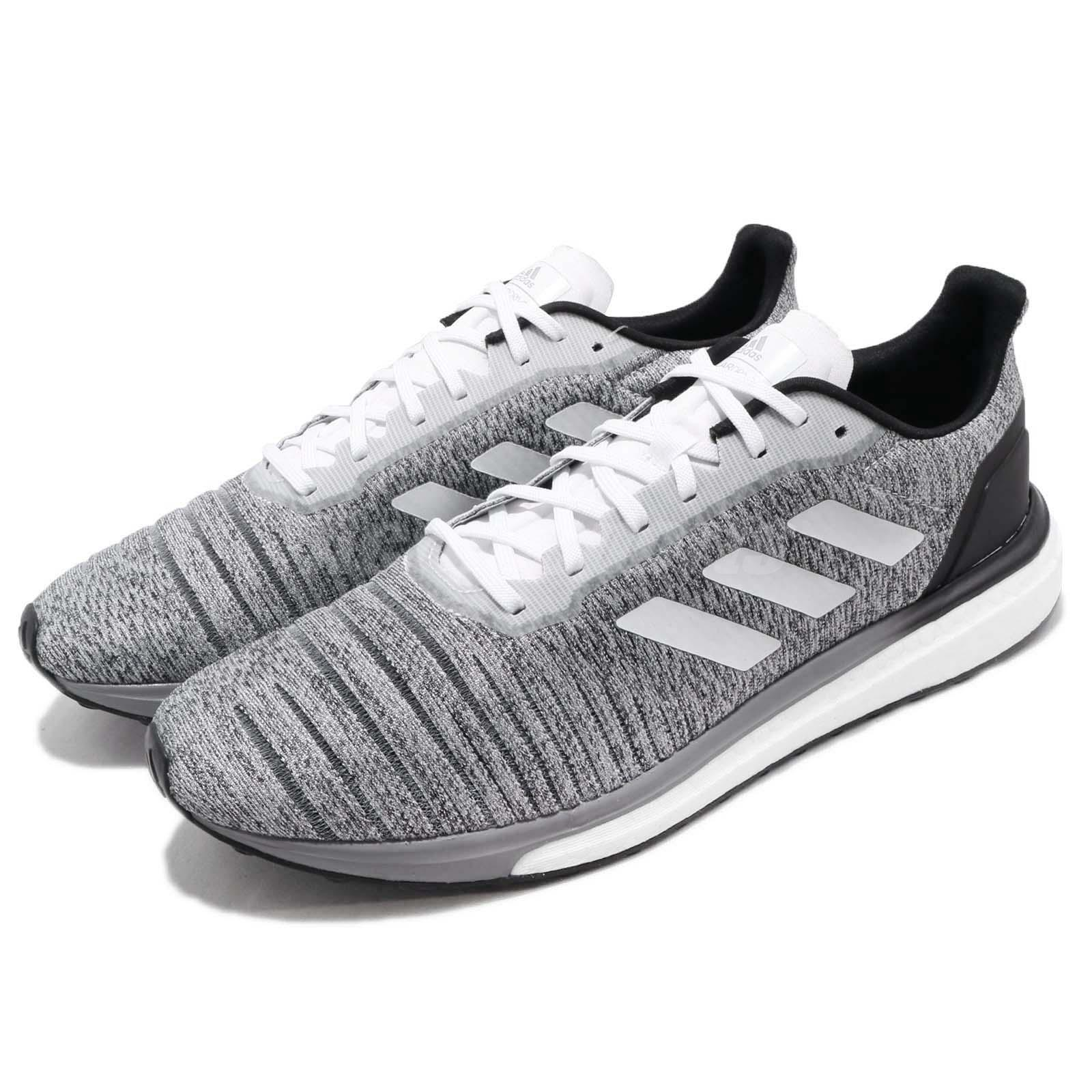 Details about adidas Solar Drive M Boost Grey White Black Men Running Shoes Sneakers AQ0337